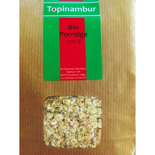 Topinambur Bio Porridge